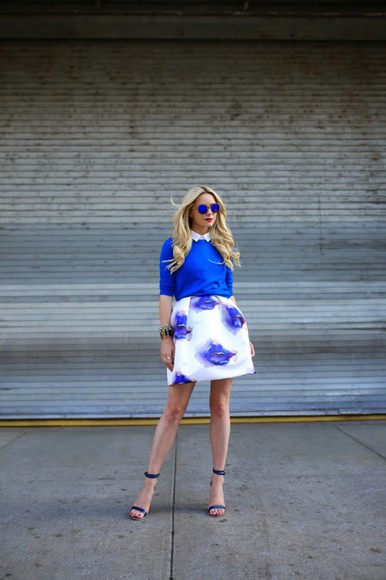 atlantic pacific shoes sunglasses top skirt