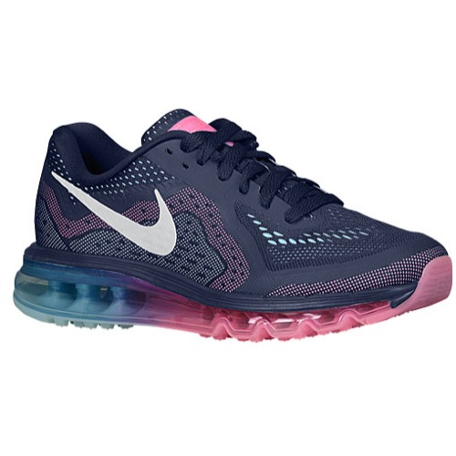 more photos 8e02c 2d340 Nike Air Max 2014 - Women s - Running - Shoes - Midnight Navy Sail Pink  Glow Glacier Ice