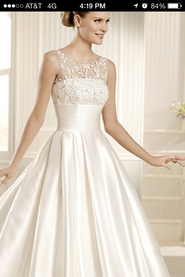 dress white white wedding dress beautiful gown