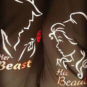 t-shirt,tees2peace,beauty fashion shopping,beauty and the beast,california girl beauty,beauty accessories,her beast his beauty,beast mode on,beast beauty,her beast,matching couples,matching shirts,his and hers shirts,disney,disney sweatshirt,family set,love,fairy tale