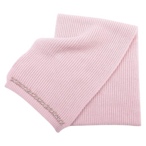 Blugirl scarf wool pink