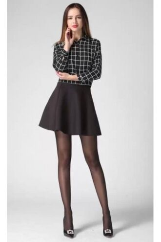 jacket chekered plaid plaid dress skirt zaful hipster grunge cute 90s style streetstyle casual black black skirt skater skirt grunge t-shirt outfit office outfits hippie style