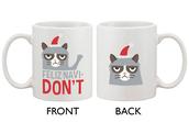 phone cover,coffee,morning mug,ceramic mug,espresso cups,white mug,cute mug,cool mug,grumpy cat,grumpy cat mug,christmas mug,xmas mug