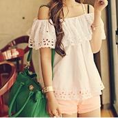 top,ulzzang,cute,korean fashion,asian,white,kawaii,japan,japanese,innocent,fashion,lovely