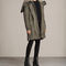 Allsaints uk: womens state parka (khaki green)