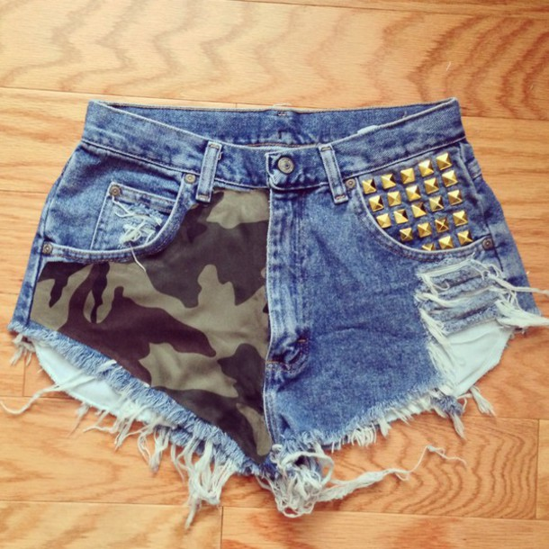 shorts camouflage summer perfect