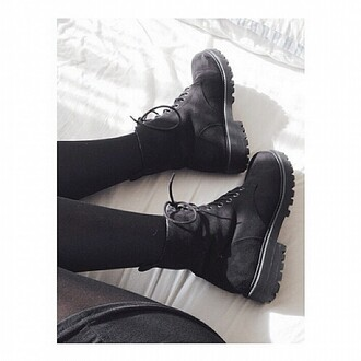 shoes boots black japan kfashion korean fashion