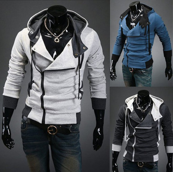 coat grey jacket male jacket