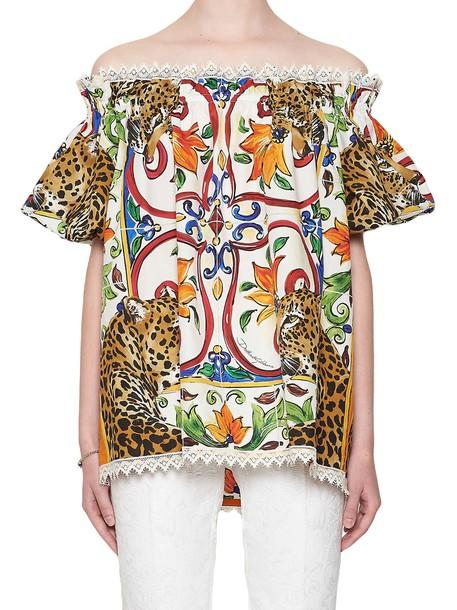 shirt multicolor top