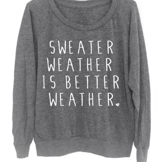 Sweater Weather Quotes