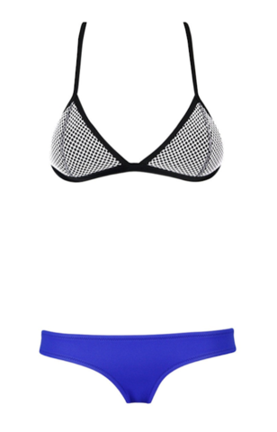 Raw Glitter | David Royal Blue Combo Bikini, Sexy Women's Bikini's | RawGlitter.com