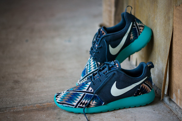 shoes nike nike running shoes nike sneakers tribal pattern