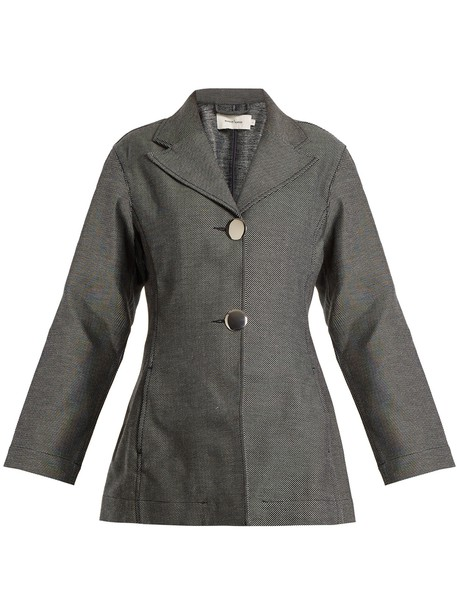 MARQUES ALMEIDA blazer denim grey jacket