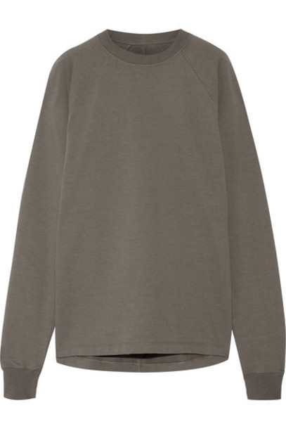 Rick Owens sweatshirt cotton sweater