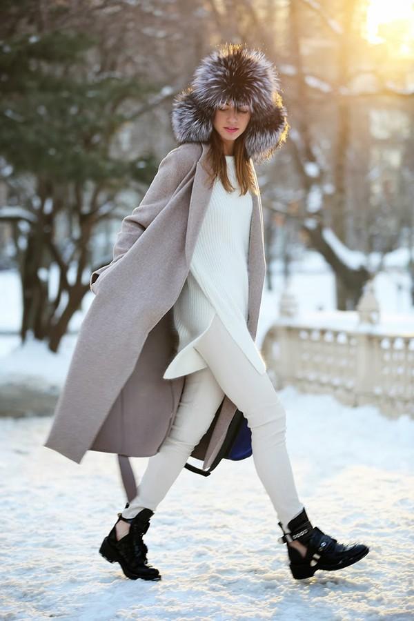 fashion vibe shoes pants bag coat hat sweater