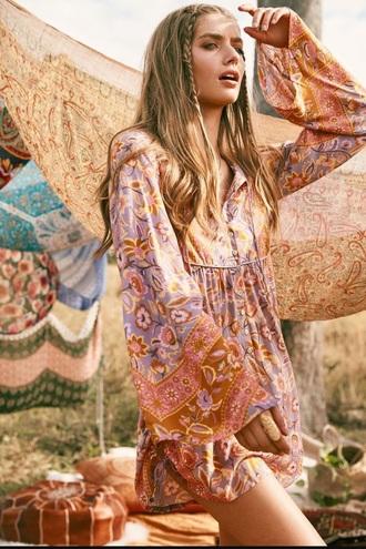dress boho summer hippie chic gipsy dress