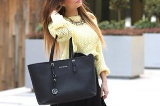 bag cardigan sweater