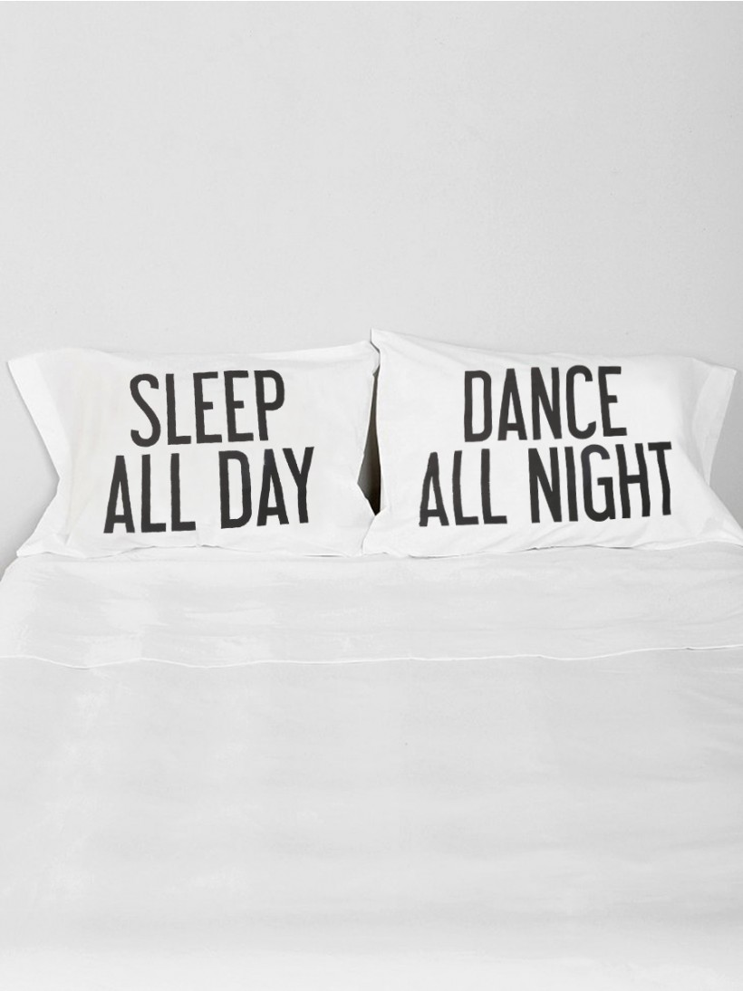 Dance All Night Pillow Case Set