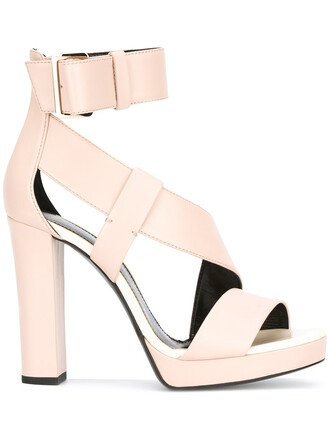women sandals platform sandals leather purple pink shoes