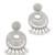 Kenneth Jay Lane Statement Earrings - Silver