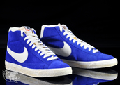 shoes,nike,blue,vintage