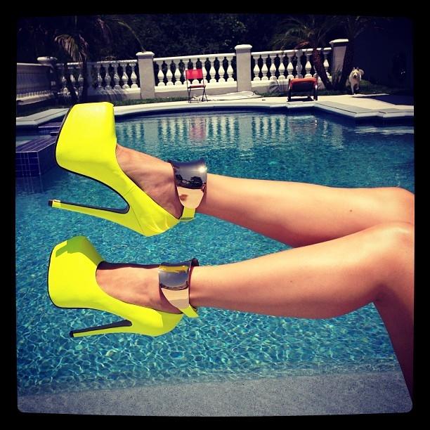 Summer fine heels