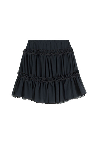 skirt mini skirt mini blue