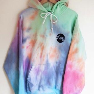 sweater tye dye sweatshirt
