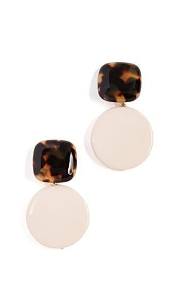 Rachel Comey earrings pink jewels