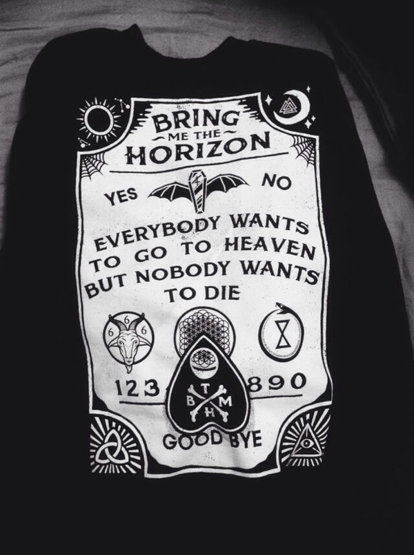 Bring Me The Horizon Shirt Hot Topic Bring Me The Horizon Ouija
