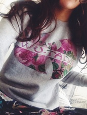 wuwear,wu-tang clan,sweater weather,flowers,flowered,flowered sweater,real,sweet,wutang sweater,hip hop,sweater,fashion,style,roses