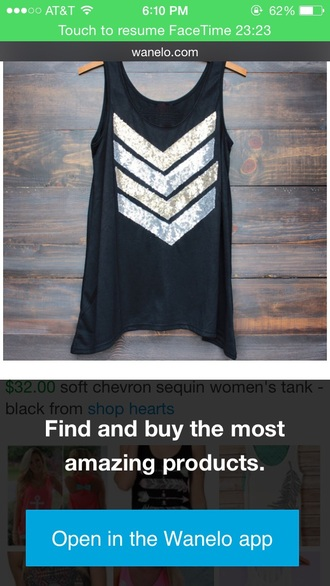 shirt chevron style sequin dress gold sequins tank top black top black t-shirt black shirt