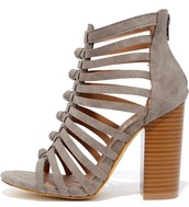 shoes,grey heels,grey shoes,high heel sandals,sandals