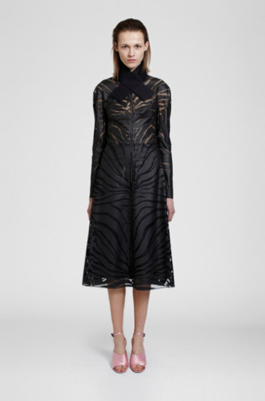 carven lookbook fashion dress