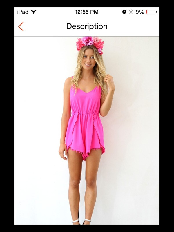 romper pink dress pink dress romper jumpsuit pink playsuit pink romper pink jumpsuit summer outfits