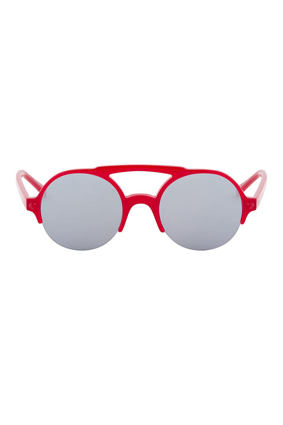 Facetasm red safari sunglasses