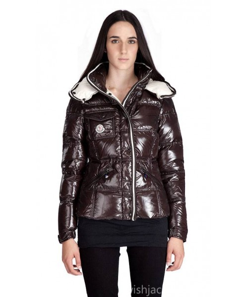 Moncler Women Branson Jacket Brown Bj130443