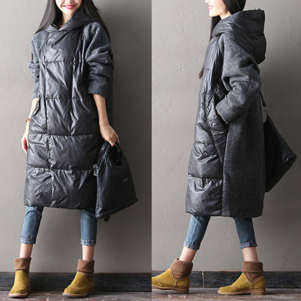 Long Parka Coats Womens