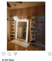 home accessory,selfie mirror,floor length,floor mirror,floor length mirror,light,light up full body mirror,make-up,vanity mirror,light up mirror,mirror,mirror with lights