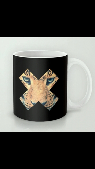 home accessory mug dope animal face print