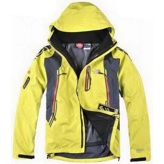 North Face Recco Jacket Yellow-Mens