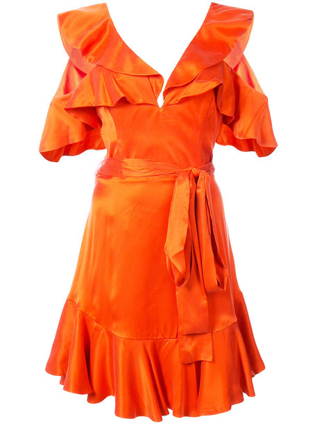 Zimmermann dress mini dress mini women silk red