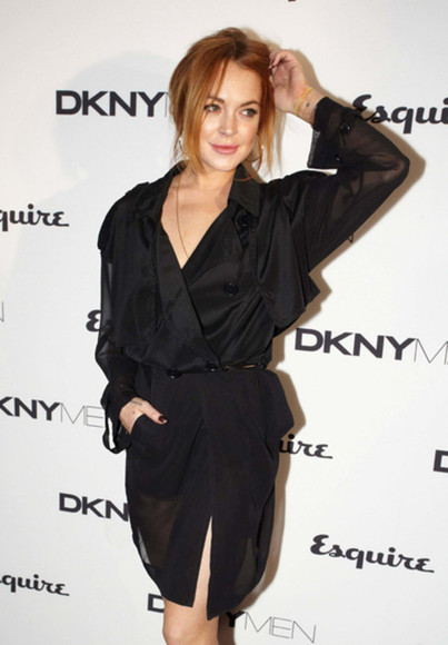 dress lindsay lohan