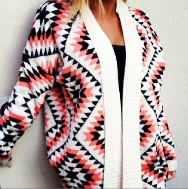 sweater tribal cardigan cardigan cute fall outfits