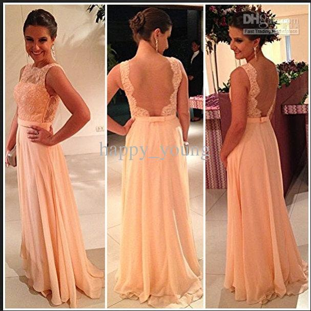 Cheap Long Evening Dress - Discount Chiffon Floor Length Evening Dress Long Vestidos Formales Online with $101.28/Piece | DHgate