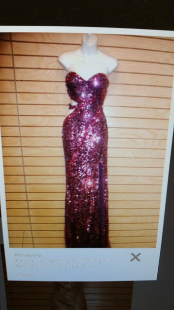 dress purple dress sparkly dress sequin dress pink dress fuschia