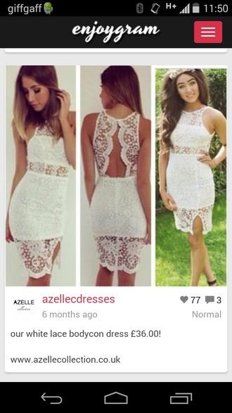 dress party party dress white dress lace dress