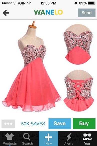 pink dress dress lace up prom dress short prom dress