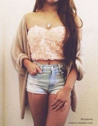 top pink top tumblr outfit tumblr top tumblr fashion pink roses