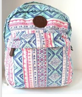 bag pink billabong billabong   tropical backpack